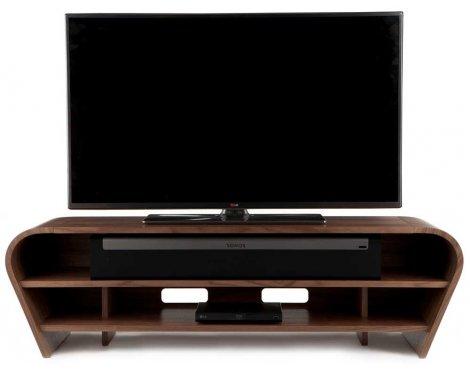 Tom Schneider Taper 1400 Walnut TV Stand