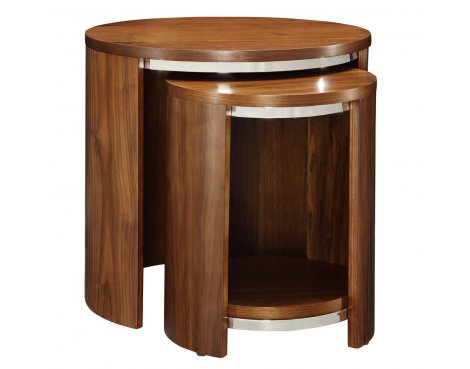 B GRADE/Box slightly damaged Jual JF306 Walnut Nest of Tables