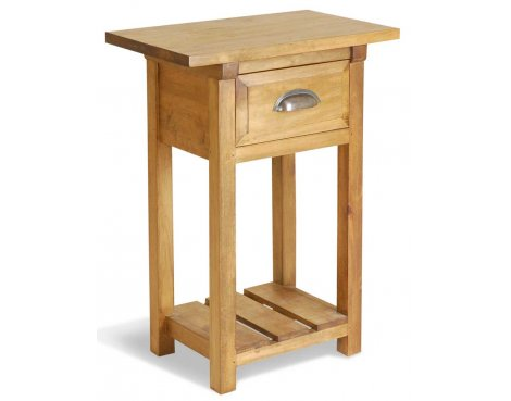 Ultimum Classic Pine 1 Drawer Kitchen Console Table