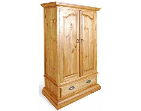 Ultimum Classic Pine 1 Drawer Wardrobe