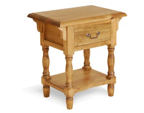 Ultimum Classic Pine Bedside Table