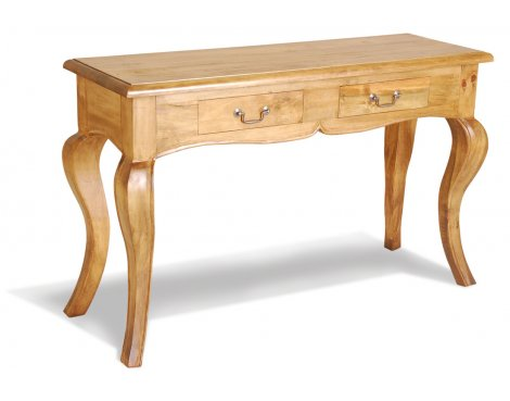 Ultimum Classic Pine 2 Drawer Console Table