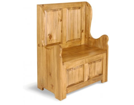 Ultimum Classic Pine Small Bench 2 seat