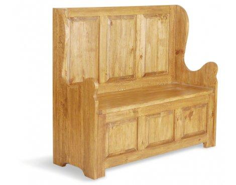 Ultimum Classic Pine Small Bench 3 seat