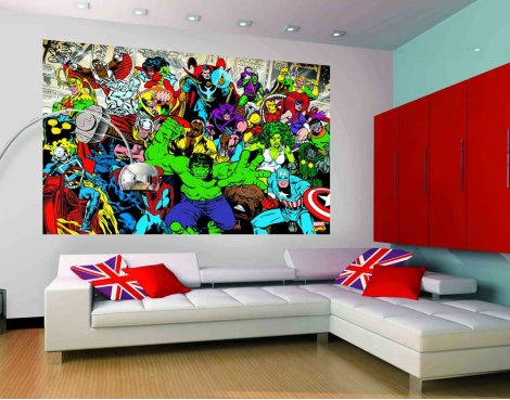 1Wall Marvel Wall Mural