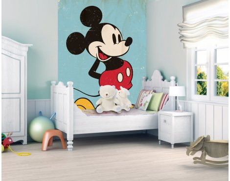 1Wall Mickey Mouse Wall Mural