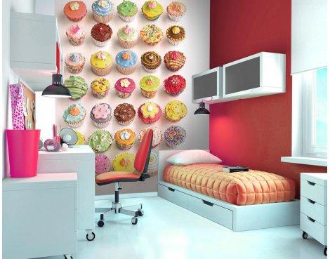 1Wall Cupcake Wall Mural