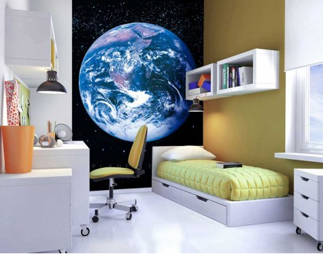 1Wall Planet Earth Wall Mural