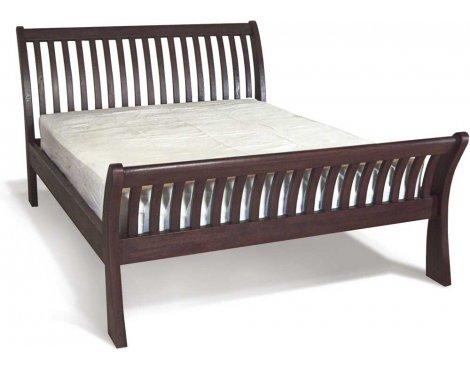 Ultimum Riviera Dark Oak 6\'0 Sleigh Bed
