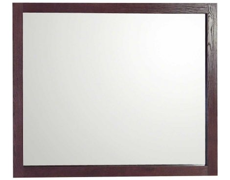 Ultimum Riviera Dark Oak Wall Mirror