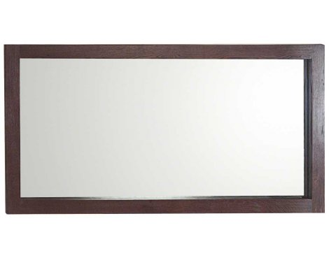Ultimum Riviera Dark Oak Wide Wall Mirror