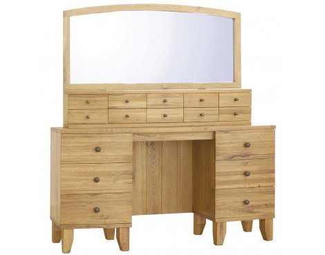 Ultimum Riviera Oak Dresser with Mirror