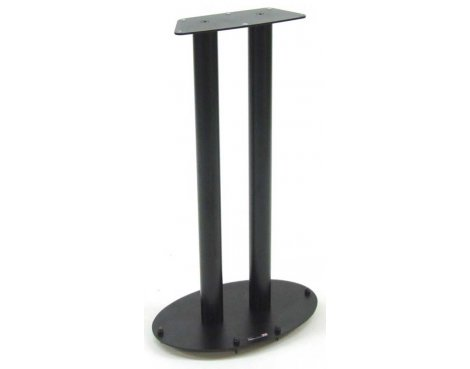 A GRADE/Box slightly damaged Atacama WSS 700 Black Speaker Stand - 1 Included - 700mm