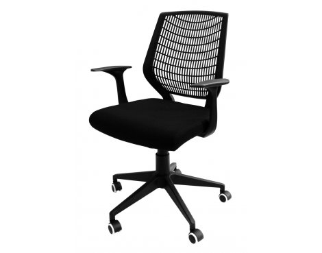 Alphason Pace Black Executive Chair