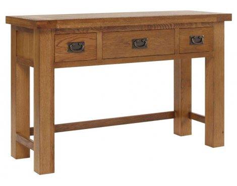 Rustic Grange Brooklyn BLDRT1 Rustic Oak Dressing Table