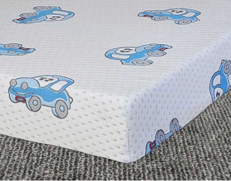 Ultimum Kids 2\'6 Reflex Foam Mattress - Boys