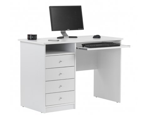 Alphason Marymount AW22813-WH White Desk