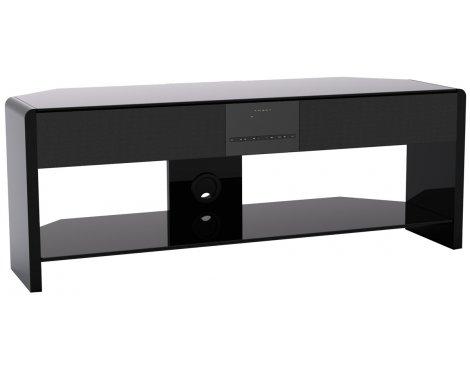Somle SLENDER 2 Shelves Home Theater Cinema TV Stand Integrated Sound Bar