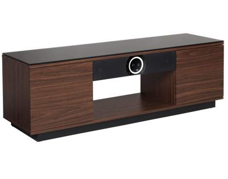 Somle CONCRETE Home Theater Cinema TV Stand Built in Speaker Sound Bar