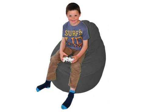 ValuFurniture Classic Gamer Black Bean Bag
