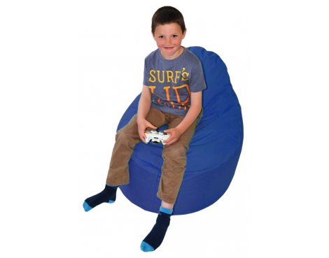 ValuFurniture Classic Gamer Dark Blue Bean Bag