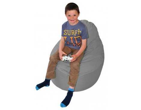 ValuFurniture Classic Gamer Grey Bean Bag