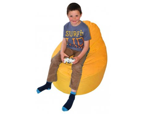 ValuFurniture Classic Gamer Orange Bean Bag