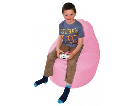 ValuFurniture Classic Gamer Pink Bean Bag