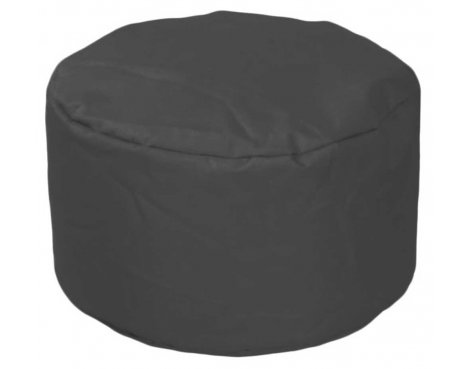 ValuFurniture Round Stool Black Bean Bag