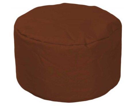ValuFurniture Round Stool Brown Bean Bag