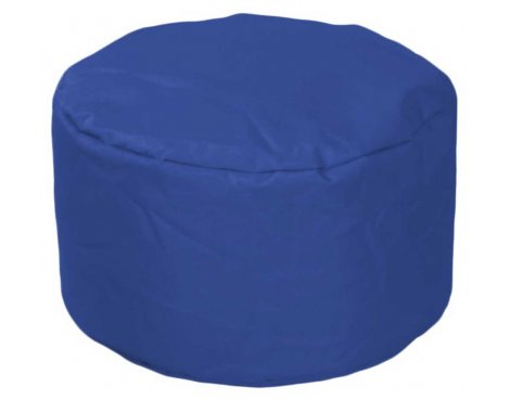 ValuFurniture Round Stool Dark Blue Bean Bag