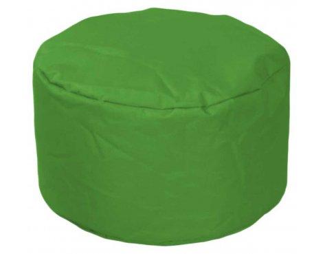 ValuFurniture Round Stool Dark Green Bean Bag