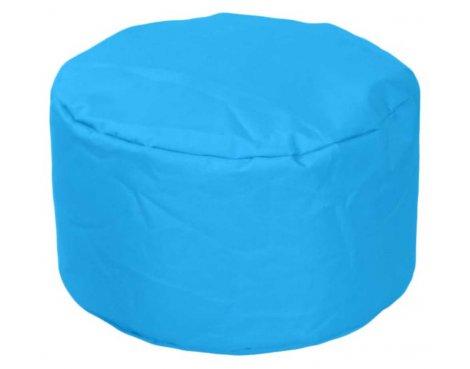 ValuFurniture Round Stool Light Blue Bean Bag