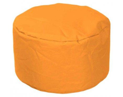 ValuFurniture Round Stool Orange Bean Bag
