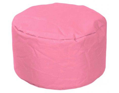 ValuFurniture Round Stool Pink Bean Bag