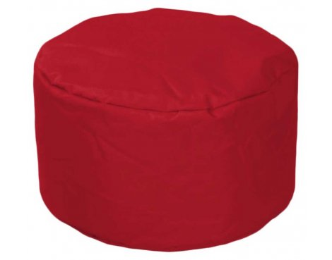 ValuFurniture Round Stool Red Bean Bag