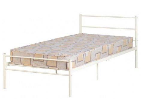 "ValuFurniture Devon 3\'0\"" Single Bed in White"
