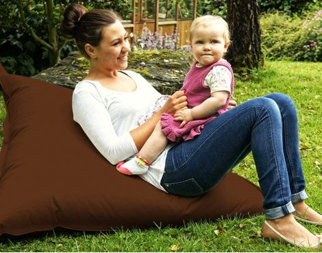 ValuFurniture Large Slab Brown Bean Bag