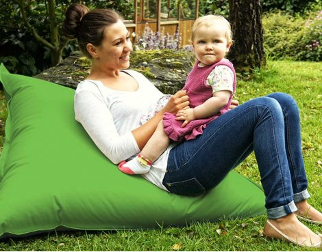 ValuFurniture Large Slab Light Green Bean Bag