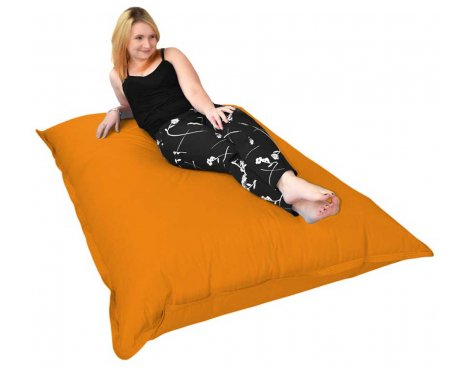 ValuFurniture Giant Slab Orange Bean Bag