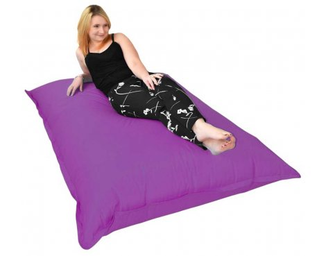 ValuFurniture Giant Slab Purple Bean Bag