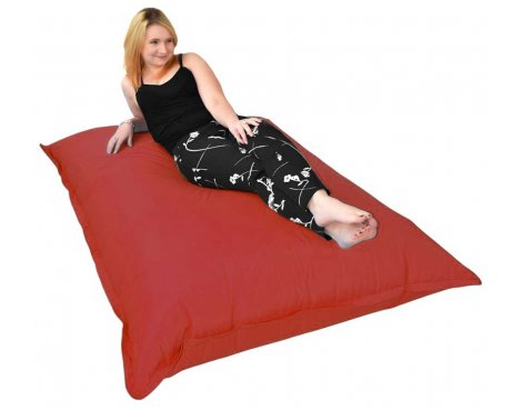 ValuFurniture Giant Slab Red Bean Bag