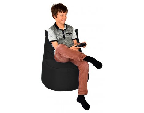 ValuFurniture Large Gamer Black Bean Bag