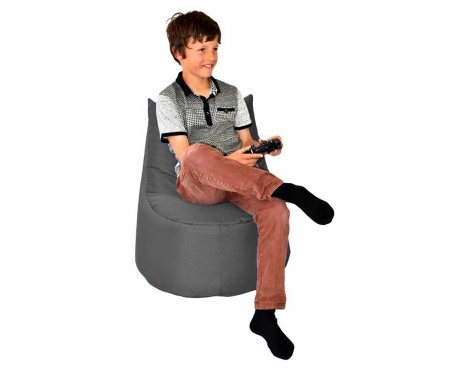 ValuFurniture Large Gamer Grey Bean Bag