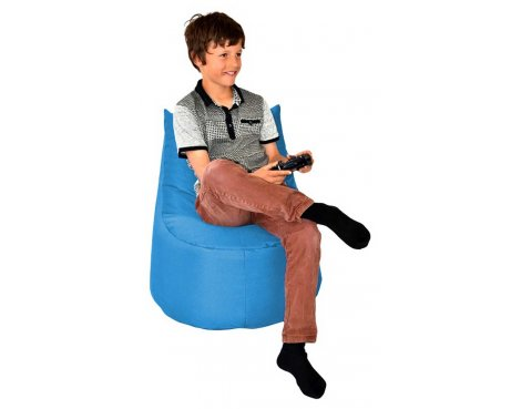ValuFurniture Large Gamer Light Blue Bean Bag