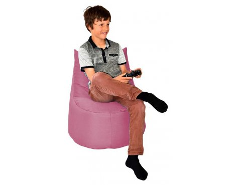 ValuFurniture Large Gamer Pink Bean Bag