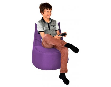 ValuFurniture Large Gamer Purple Bean Bag