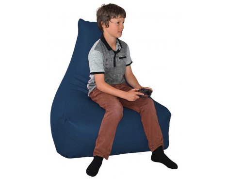 ValuFurniture PU Leather Gamer Royal Bean Bag