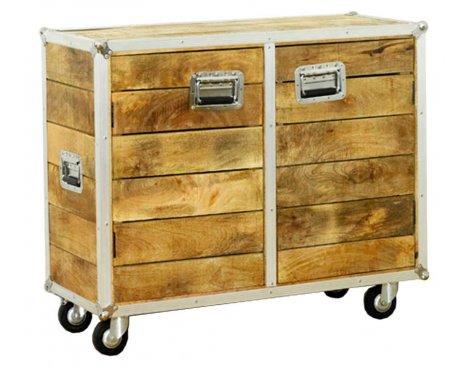 Baumhaus IRC02B Roadie Chic Oak Small Sideboard