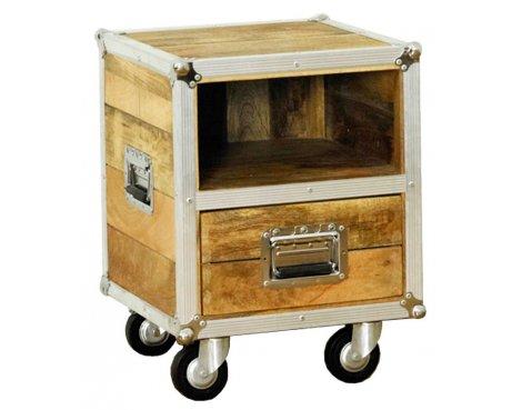 Baumhaus IRC10A Roadie Chic Oak Lamp Table